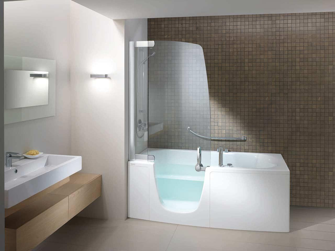 Idee per il bagno vasca e doccia schiavi spa - Idee box doccia ...