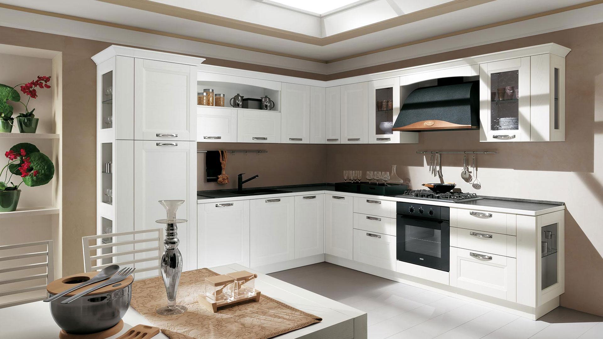 Come arredare la cucina schiavi for Idee arredo cucina classica