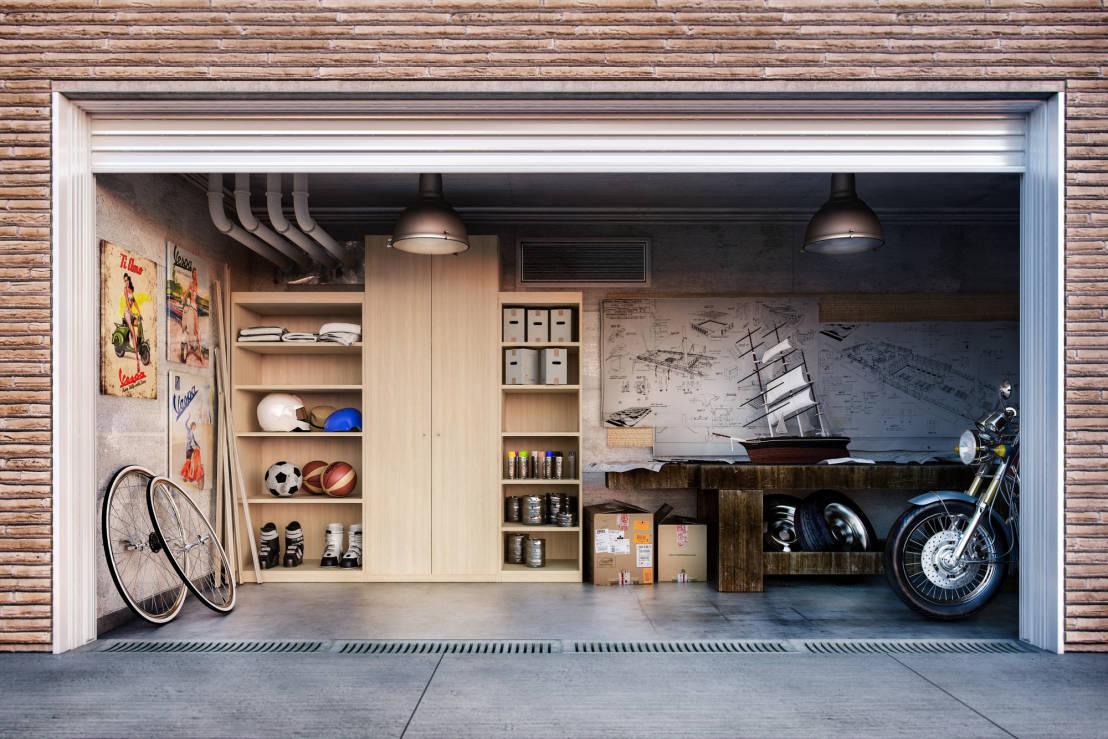 Come arredare il tuo garage schiavi for Arredamento per garage