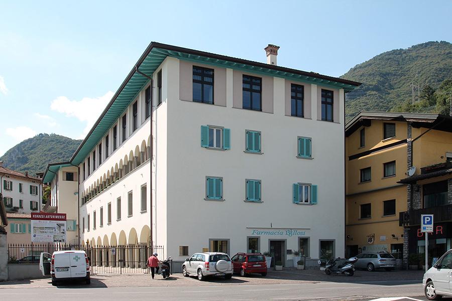 Restauro di Palazzo Ferlendis a Lovere: nuova vita a intonaci e murature