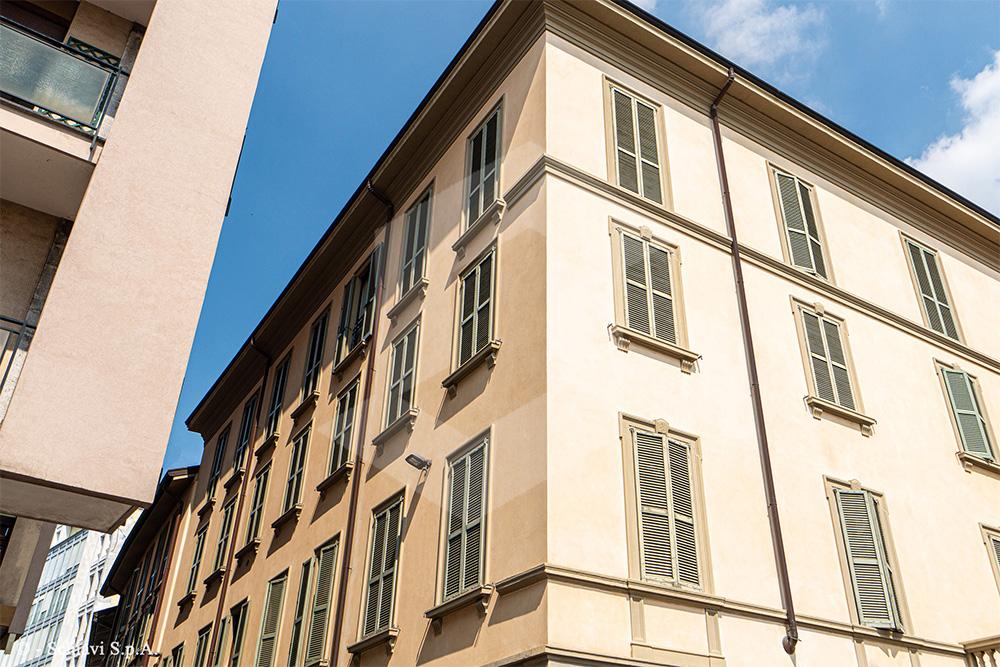 Nel cuore antico di Monza, l'ininterrotto cantiere dell'Impresa Schiavi S.p.A.
